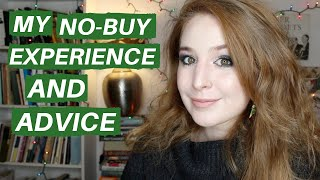 HOW TO DO A NO-BUY YEAR | Hannah Louise Poston | MY NO-BUY YEAR