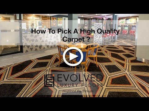 How To Pick High Quality Fade Resistant Carpet - YouTube