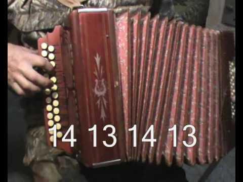 АЗЫ игры на гармошке хромке и частушки в миноре