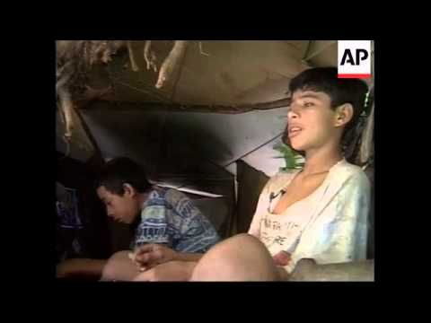 NICARAGUA: TREE BOYS : POVERTY IN MANAGUA
