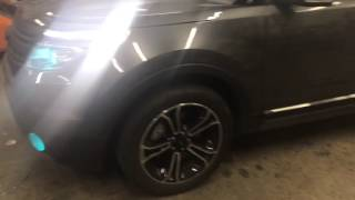Ford Explorer customized