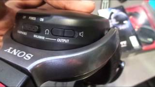 #Headphones@Dinos: Sony NWZ-WH303 3 in 1 Wireless Headphones Unboxing & Review