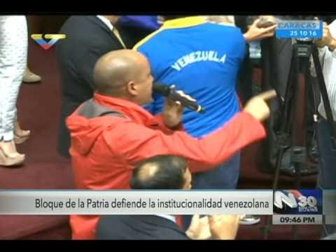 El toma y dame de Héctor Rodríguez vs Ramos Allup tras irrespeto a las FANB, 25/10/2016