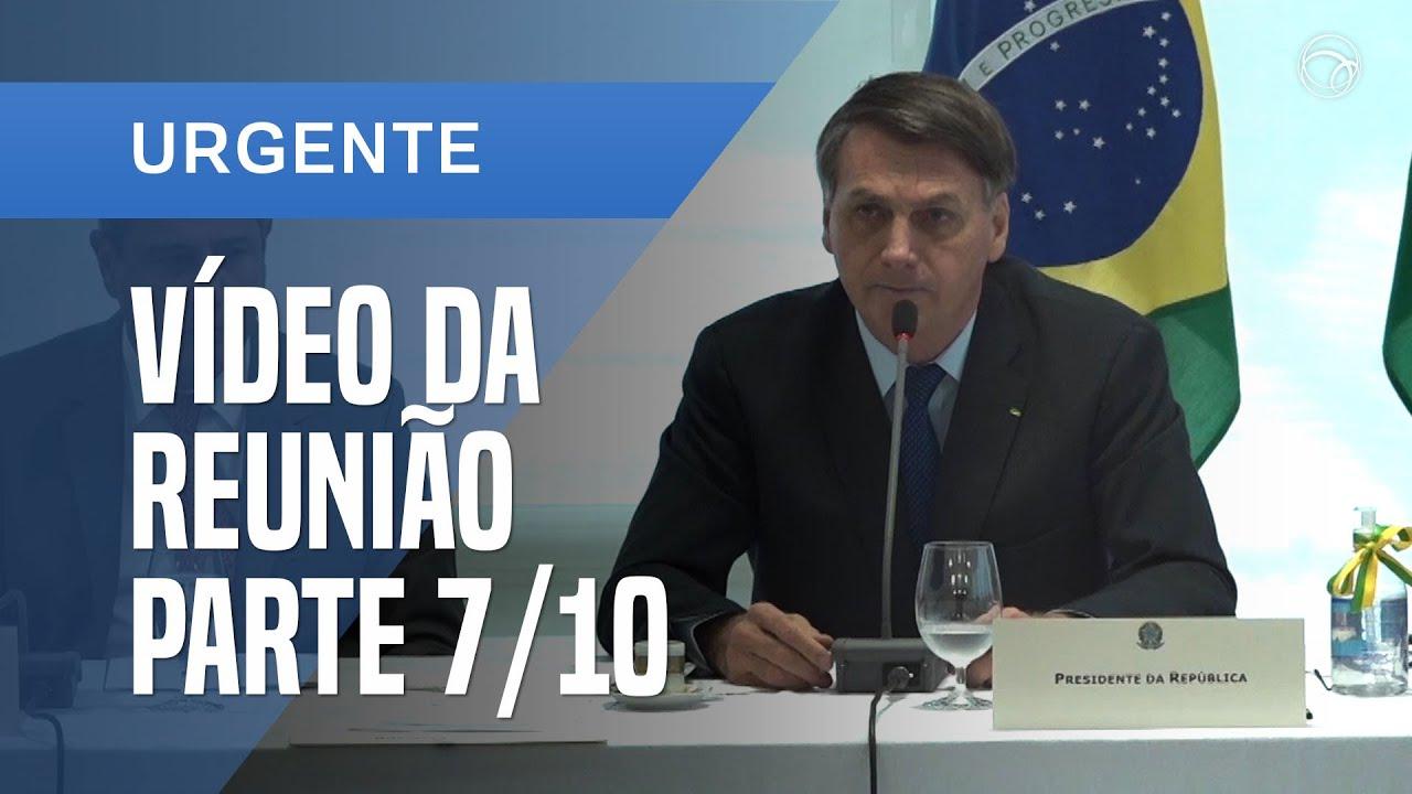 Notícias - VÍDEO DA REUNIÃO MINISTERIAL DE JAIR BOLSONARO DE 22 DE ABRIL l PARTE 7/10 - online