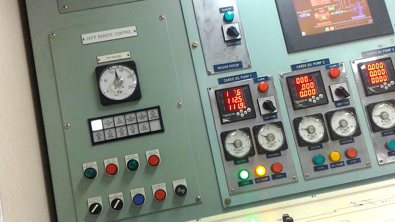 Cargo Control Room Oil Tanker Youtube