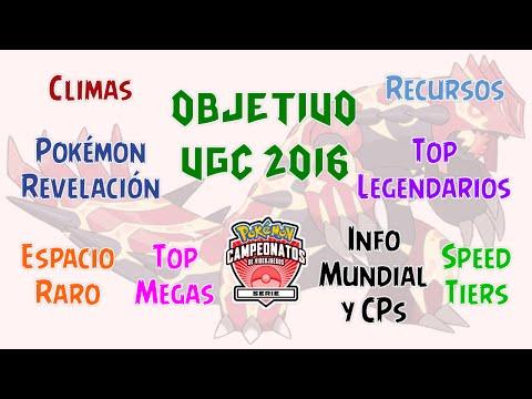 Objetivo VGC 2016 | Guía - Pre-análisis del meta: mejores Pokémon, climas y velocidades + recursos