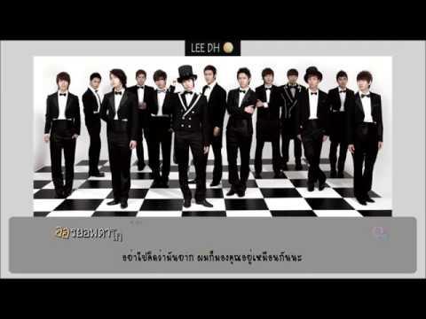 [Karaoke/THAISUB/ซับไทย] Super Junior - 차근차근 Way For Love