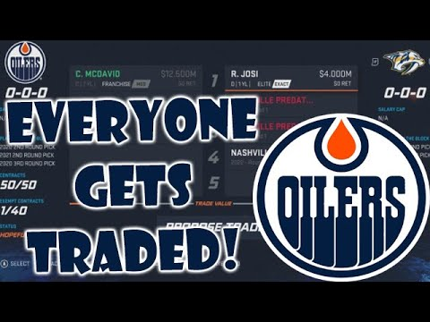 What If EVERY Edmonton Oiler Was TRADED? NHL 20