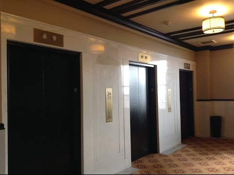 AWESOME Westinghouse Selectomatic Traction Elevators-The Citizen Hotel-Sacramento, CA