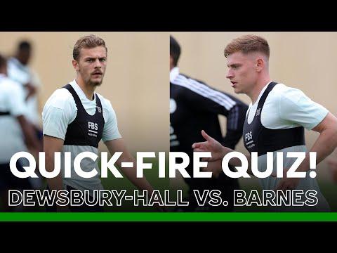 Quiz Time For KDH & Barnes! | Pre-Season 2021/22