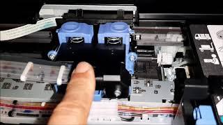 캐논 복합기 프린터 잉크로딩 서비스모드 초기화 폐잉크 …