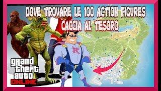 DOVE TROVARE LE 100 ACTION FIGURES (STATUETTE) SU GTA5 ONLINE
