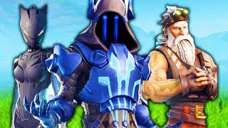 Fortnite Season 7 Combat Pass Skins!