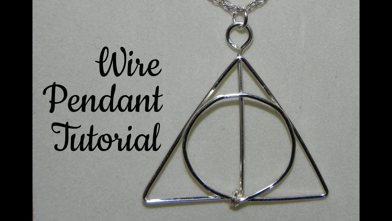 Wire Pendant Tutorial - YouTube
