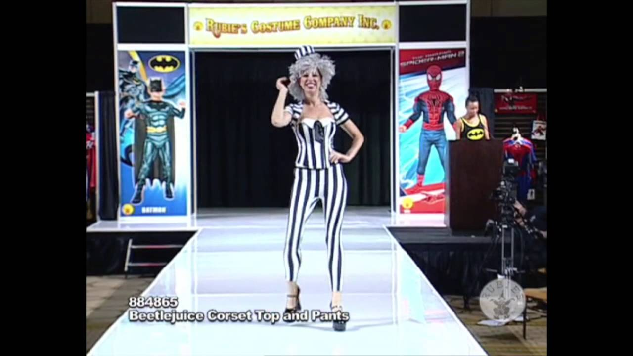 Womens Beetlejuice Costume Womens Beetlejuice Costume Youtube