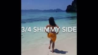 Apprendre la danse orientale - Niveau 1 - 3/4 shimmy (côté-side) tutorial