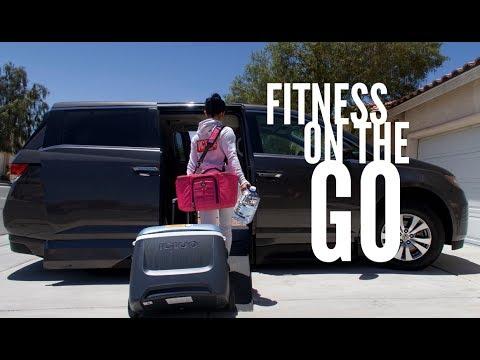 Fitness on the GO | Road trip to Vegas | Bikini prep Vlog #11