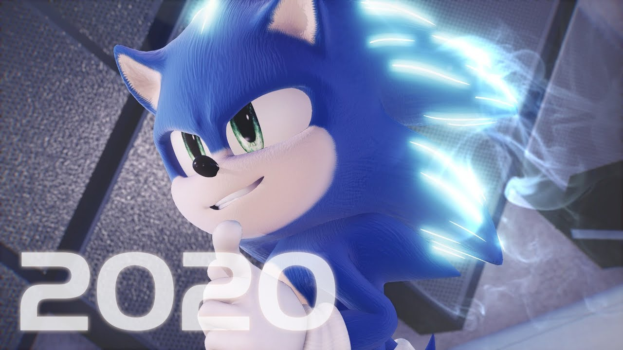 【4k】Movie Sonic Dance CG Animation ★(MMD Model release DL)