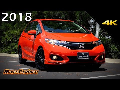 2018 Honda FIT Sport - Ultimate In-Depth Look in 4K