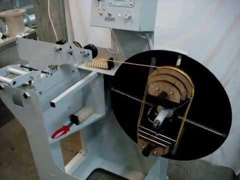 видео: Станок для намотки всыпных обмоток