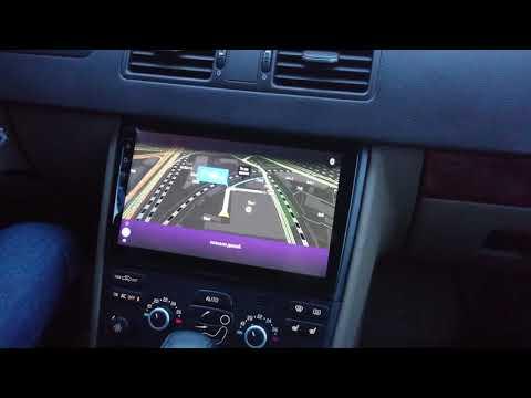 "Volvo XC90 замена штатной магнитолы на 10"" Android"