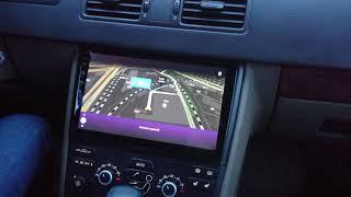Volvo XC90 замена штатной магнитолы на 10