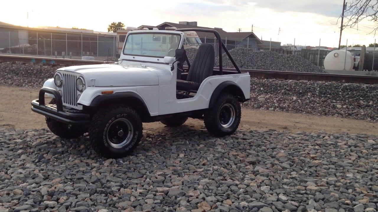 1972 Jeep CJ 5 Renegade 304 V8 Dana 44 Rear Axle For Sale Overall