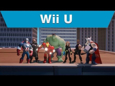 Wii U - Disney Infinity (2.0 Edition) -- Marvel's The Avengers Play Set Trailer