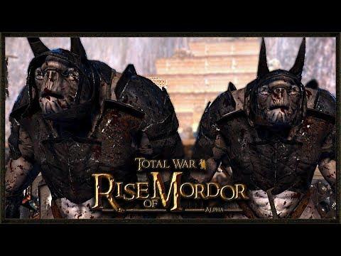 Unleash The Trolls! - Total War: Rise Of Mordor Gameplay