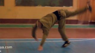 Акробатика. Пластунский рукопашный бой, система боя Леонид Полежаев.