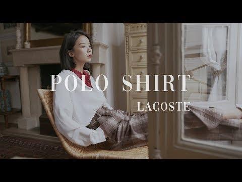 和我一起穿LACOSTE Paris Polo衫吧