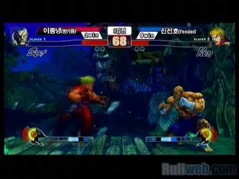 Korea Nationals SF4 Week 3-2 - Sagat vs Fender (Ken) Travel Video