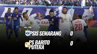 [Pekan 6] Cuplikan Pertandingan PSIS Semarang vs PS Barito Putera, 30 Juni 2019