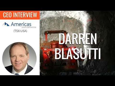Americas Silver Corporation | We're Going To Be The World's Lowest Cost Silver Producer In 2018