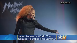 Janet Jackson's Black Diamond World Tour Stops In Dallas This Summer