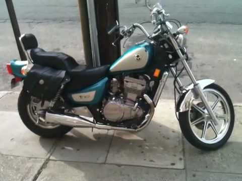1993 Kawasaki Vulcan 500 - YouTube