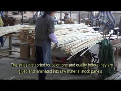 Greenington Fine Bamboo Furniture Factory Tour