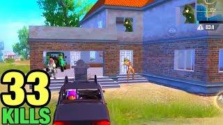 Best Rushed 4 Enemies in House | PUBG MOBILE