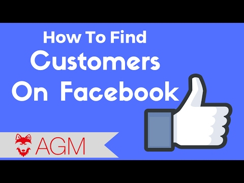 How to find customers on Facebook INSTANTLY