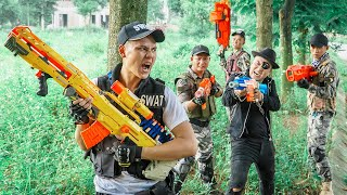 LTT Game Nerf War : Squad Warriors SEAL X Nerf Guns Fight Inhuman Group Guardian Of Justice