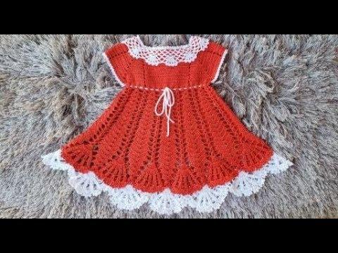 Vestido De Crochê Princesa 6 A 9 Meses