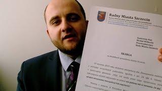 Złożyłem pierwsze skargi na działalność Prezydenta Szczecina. Naruszył przepisy ustawy?
