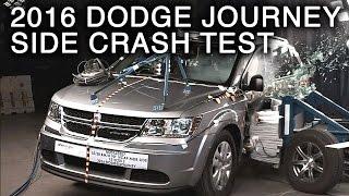 2016 Dodge Journey Crash Test (Side Crash)
