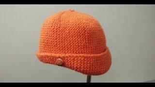 Cap / Topi / Hat for 7-8 yrs Kids (७-८ साल के बच्चे  टोपी ) | Knitting Hindi |