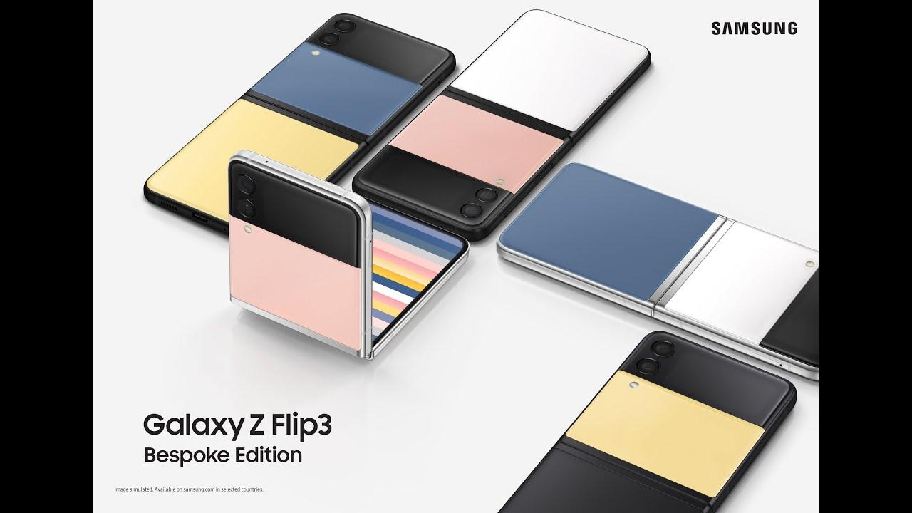 Introducing Galaxy Z Flip3 Bespoke Edition