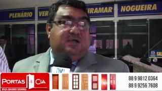 Mauricio Martins fala da recuperação de Estradas e fiz do assunto eleição da Câmara
