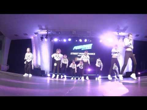 Feel the Beat '2015   Street Performance Mega Crew Kids Final
