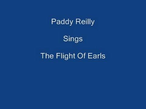 The Flight Of Earls + On Screen Lyrics ----- Paddy Reilly