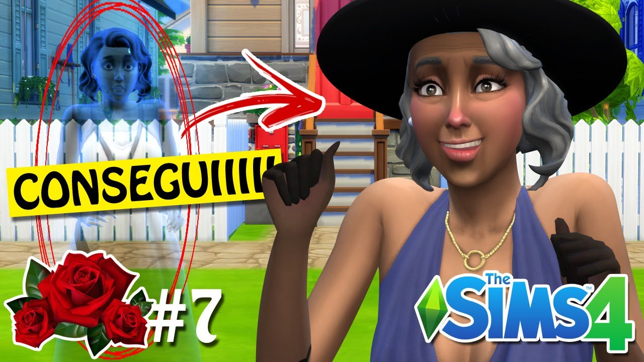 MIKHAELA VOLTOU À VIDA - Desafio da Aurora #07 - The Sims 4
