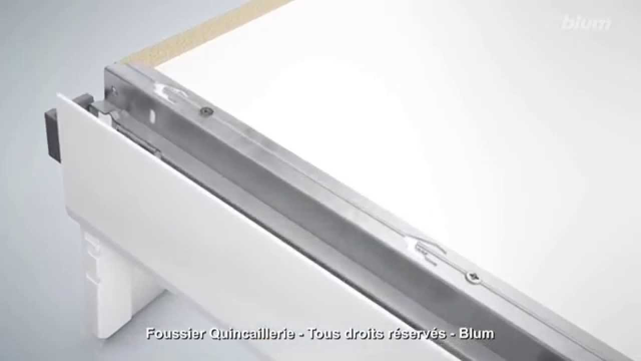 blum tandembox antaro montage tiroir a l 39 anglaise youtube. Black Bedroom Furniture Sets. Home Design Ideas